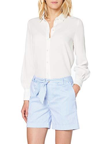 Scotch & Soda Longer Length Mercerized Chino Shorts, Multicolore (Combo S 0598), W30 (Taille Fabricant: 30) Femme