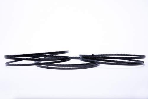 3er SET Encut Hochleistungs Bandsägeblatt 1400 x 6 x 0,65mm, 10 ZpZ Werkzeugstahl Sägeband für Einhell,Atika etc. geeignet für Holz,Sperrholz,Alu,Kunststoff etc.