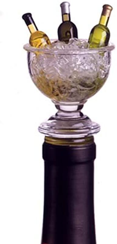Acrylic Mini Wine Bowl Shape Bottle Stopper