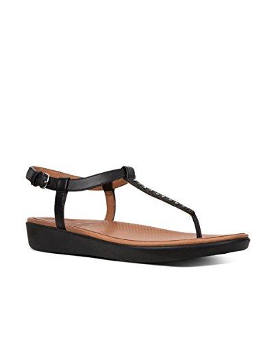 Fitflop Tia Toe-Thong Sandals - Cryst - Sandalias de Mujer EN Color Negro