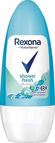 Rexona Shower Fresh Deo Roll-On Women, verpakking van 6 stuks (6 x 50 ml)