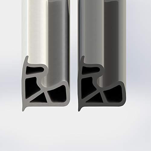 5 Meter Stahlzargendichtung Stahlzarge Dichtung Türdichtung Zimmertür grau