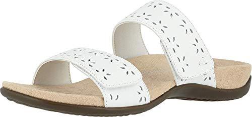 Vionic Women's Rest Randi Slide Sandal - Adjustable Sandals with Concealed Orthotic Arch Support