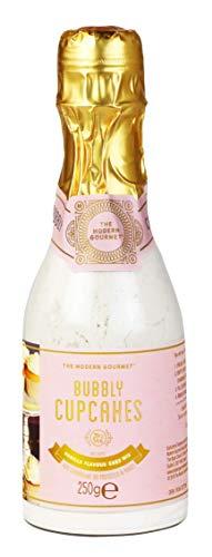 Modern Gourmet Foods - Backmischung Für Vanille-Champagner Cupcakes In Champagner-Flasche Geschenkset & Backset - 250 g