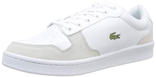 Lacoste Masters Cup 319 1 SMA, Sneaker Uomo, Bianco (Wht/off Wht 65t), 44 EU