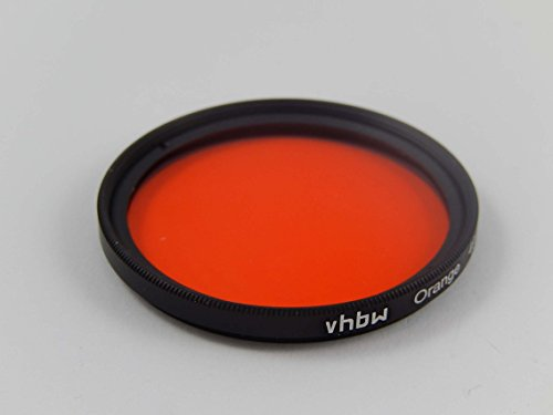 vhbw Universal Farbfilter 67mm orange passend für Kamera Objektiv Samsung NX Lens 18-200 mm 3.5-6.3 ED OIS i-Function