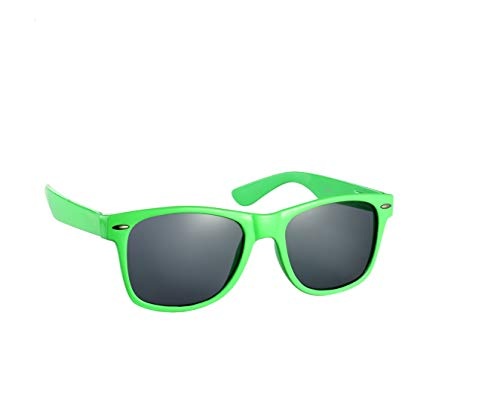 80s Style Neon Frame Sunglasses with UV400 Protection. Many colours