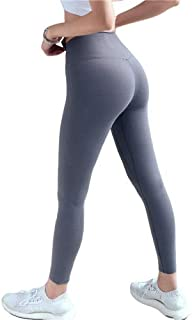 Yoga Pants Womens High Waist Double-Sided Nylon is Tight and Tight, Not Easy to Crack High Elasticity Light Breathable and...