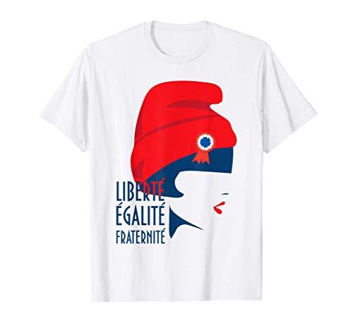 Marianne France Liberté, égalité, fraternité T-Shirt