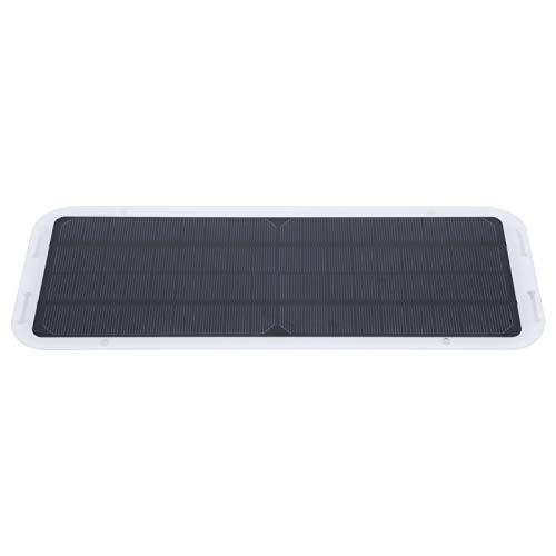BWLZSP Panel Solar de 18 V, Panel Solar de 18 V para Exteriores, Kit de Cargador de Placa de Potencia de Carga de Coche portátil para Motocicleta