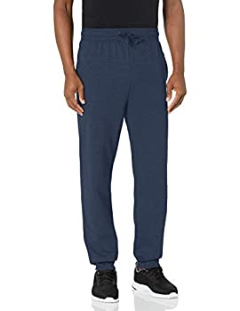 Hanes Men s Jogger Sweatpant with Pockets Navy X Large