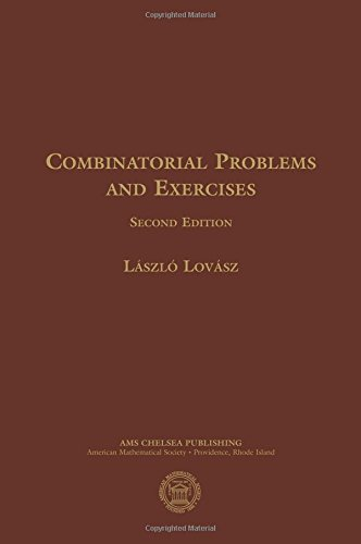 Compare Textbook Prices for Combinatorial Problems and Exercises AMS Chelsea Publishing 2 Edition ISBN 9780821842621 by Laszlo Lovasz