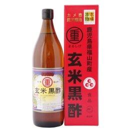 まるしげ 鹿児島県福山町産 玄米黒酢 900mL×7個         JAN:4979246280568