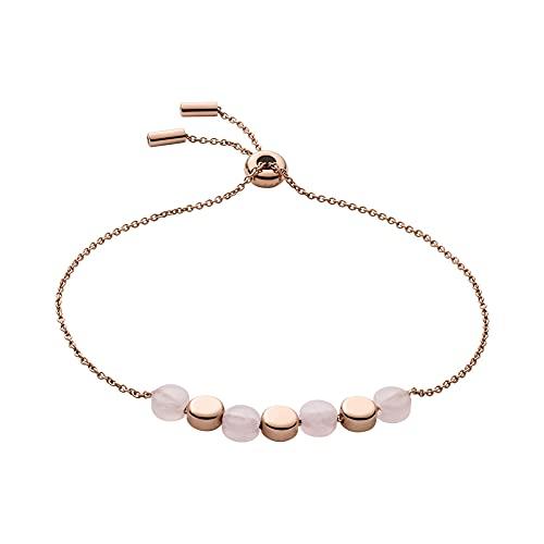 Skagen 32012394 - Pulsera de acero inoxidable para mujer, talla única, oro rosa