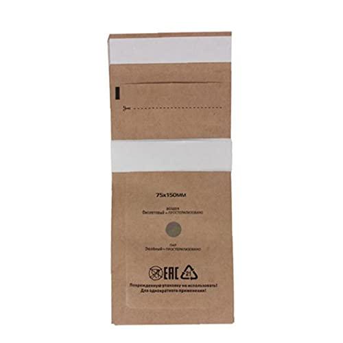 LAANCOO Sterilisator Tasche Mikrowelle Sterilisation Taschen Einmaliger Nageltasche Gel Ausrüstung Sterilisator Beutel Kosmetikzubehör