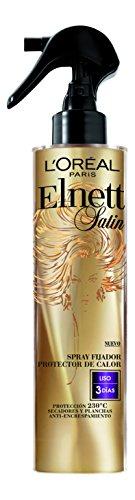 L'Oreal Elnett Protector Calor Spray Fijador Cabello Liso - 170 ml