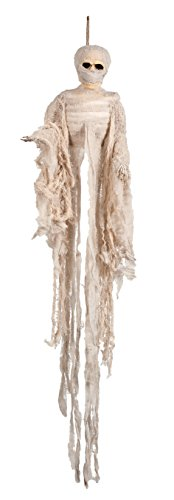 Boland 74537 - Deko Mumien-Skelett, Dekorationen, Circa 100 cm
