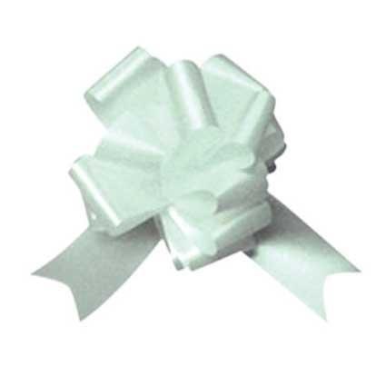 Pull Bows - 10 arcs pull blanc - grand banc pour les arcs, les voitures et l'emballage des cadeaux