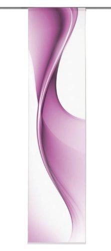 Home Fashion 86914-763 Schiebevorhang Digitaldruck Bristol/Dekostoff 245 x 60 cm