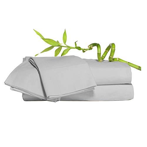 Euphoric Bedding - Juego de cama de 4 piezas (100% bambú)