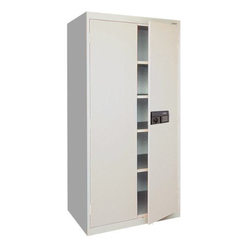 Sandusky Lee Elite Series Keyless Entry Welded Storage Cabinet (36' W x 24' D x 78' H)
