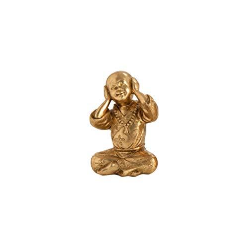 NYKK Ornamento de Escritorio Jujin Buda Adornos, luz Oficina de Lujo, Sala de Estar, Estudio, Hogar, Manualidades, Arte, Hay Dos Opciones artesanías decoración (Color : D)
