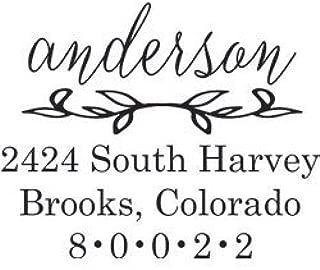 Custom Embosser Seal Hand Held Style- 55 Shiny EZ-Seal Rectangle Decorative Personalized Custom Address Embosser