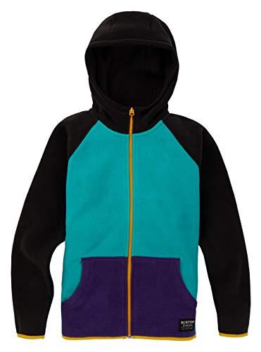 Burton Kinder Spark Fleece Pullover, Dynasty Green Multi, L