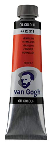 Van Gogh Oil Color Paint, 40ml Tube, Vermillion 311