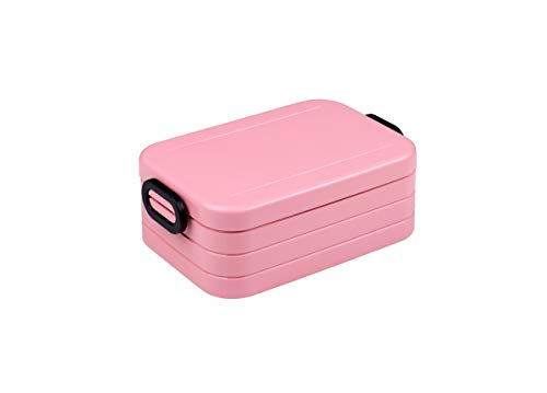 Mepal Nordic pink Lunchbox take a Break midi, Plastik, 18.5 x 12 x 6.5 cm