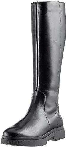 Geox D Myluse F, Stivali Alti Donna, Nero (Black C9999), 41 EU
