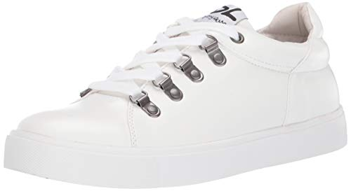 Dirty Laundry by Chinese Laundry Women's ELLE Sneaker, White Smooth, 9.5 M US