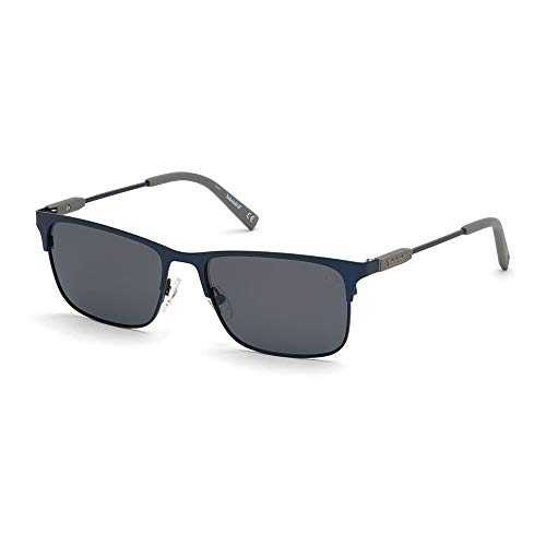 Timberland Gafas de Sol TB9212 MATTE BLUE/GREY 56/17/145 hombre