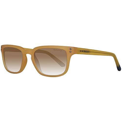 Gant Sonnenbrille Ga7080 40E 52 Gafas de Sol, Amarillo (Gelb), 52.0 para Hombre