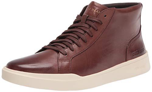 Cole Haan Men's Grand Crosscourt Modern Midcut Sneaker, Chestnut, 12 UK