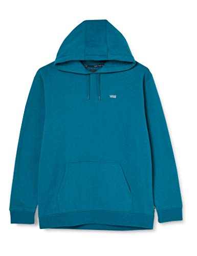 Vans Basic Pullover Fleece Felpa, Blu Marocchino, M Uomo