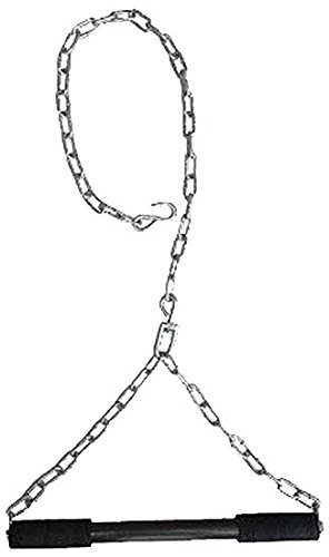 BUSINESS PEOPLE Hanging Rod | 5 Ft | Heavy Chain | Weight Lifting Bar | Pull-up Bar