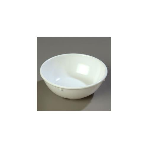 5.5' Round Nappie Bowl w/ 14-oz Capacity, Melamine, White
