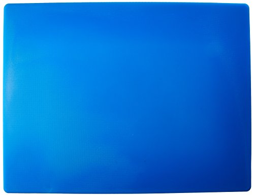 Winco CBBU-1824 Cutting Board, 18-Inch by 24-Inch by 1/2-Inch, Blue