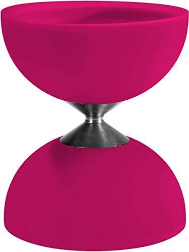 Eureka- Diabolo de Goma Acrobat 105, Color Rosa (515738)