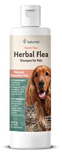 Garmon Corporation/Naturvet Herbal Flea & Tick Shampoo 16 Oz
