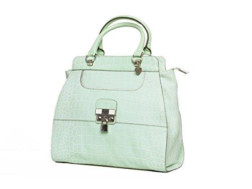 Guess Shopper Schultertasche Tasche Yorkshire Grün #GU106A
