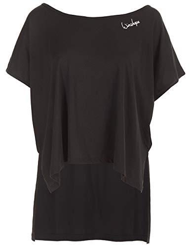 Winshape Mct010, ultra licht modal-shirt voor dames, dansstijl, fitness, vrije tijd, sport, yoga, workout T