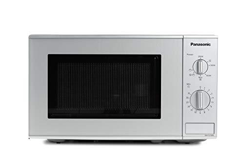 Panasonic NN-K121M Kombi Mikrowelle mit Grill (800 Watt, 20 Liter) silber