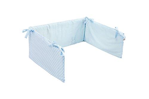 Träumeland TT17205 Nid de rêve en Forme de Lapin Bleu/Multicolore
