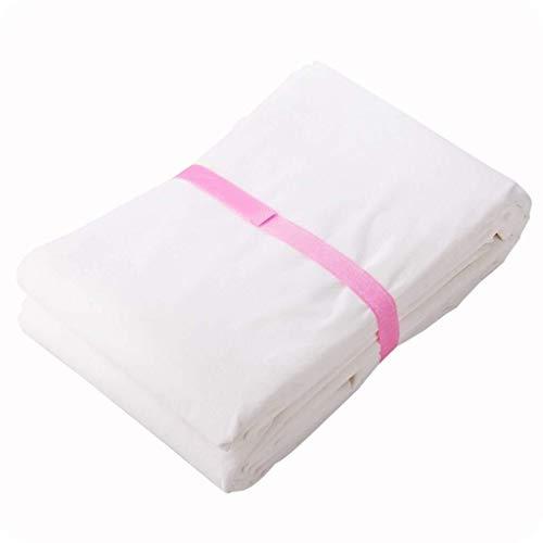 Blanc, Taille: 160 × Cache Anti-poussière tissé 160cmNon Grand Couvre-lit canapé Tissu poussière Meuble Anti-Sale Chiffon Couverture Chiffon poussière Feuille for Peinture, décoration