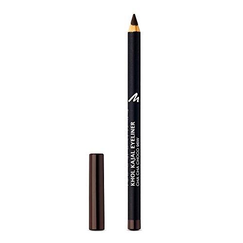 Manhattan Khol Kajal Eyeliner – Dunkelbrauner Kohle-Kajalstift für Smokey Eyes und eine perfekt umrandete Augenkontur – Farbe Cha Cha Choco 96W – 1 x 1,3g