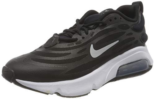 Nike W Air MAX EXOSENSE, Zapatillas para Correr Mujer, Black Mtlc Silver White, 40 EU