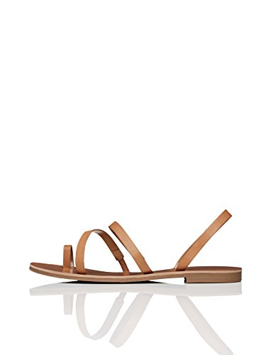 find. Sandali alla Schiava Multi-Strap Donna, Marrone (Tan), 38 EU