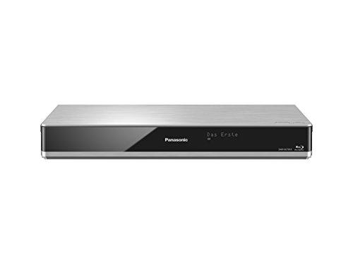 Panasonic DMR-BCT855EG Blu-ray Recorder (mit 1 TB Festplatte, für DVB-C, Twin HD Tuner, 4K Upscaling, WLAN, VoD, TV Anywhere, 2x CI+, HbbTV) silber